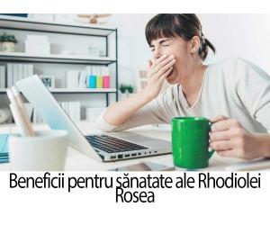 10 beneficii de sanatate ale Rhodiolei rosea