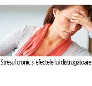 Stresul cronic și efectele lui distrugătoare